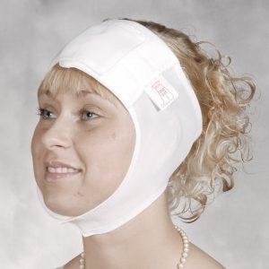 Kopf-, Stirn-, Ohr- und Halsbandage Modell 202