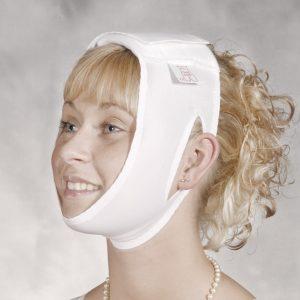Kopf- und Kinbandage Modell 206